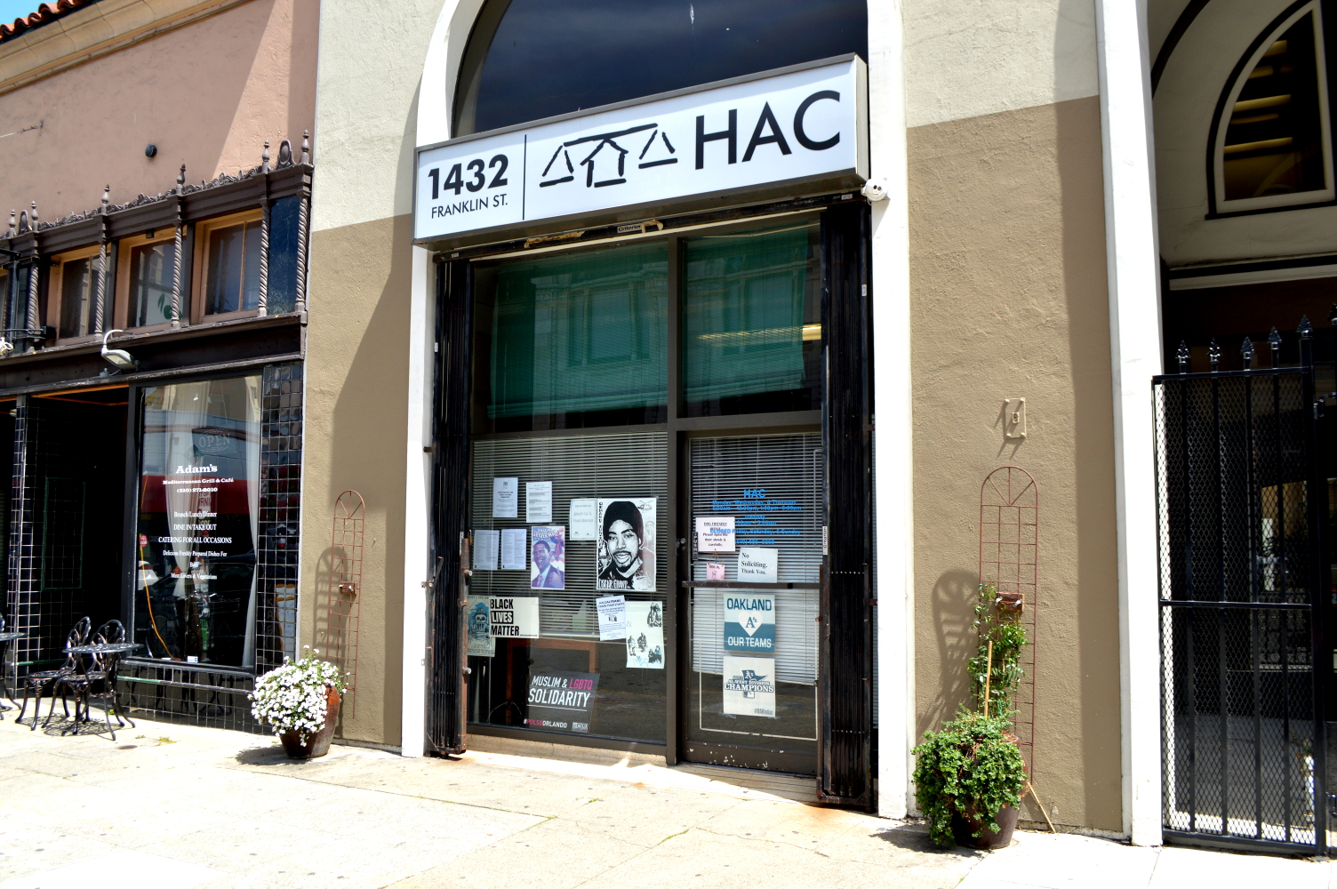 Homeless Action Center Downtown Oakland office